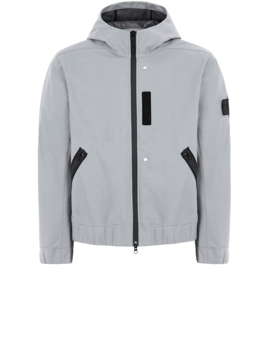 LIGHTWEIGHT JACKET Q0201 HOODED JACKET STONE ISLAND SHADOW PROJECT - 0