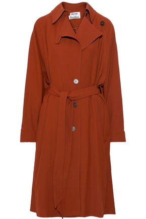 ACNE STUDIOS Belted twill trench coat
