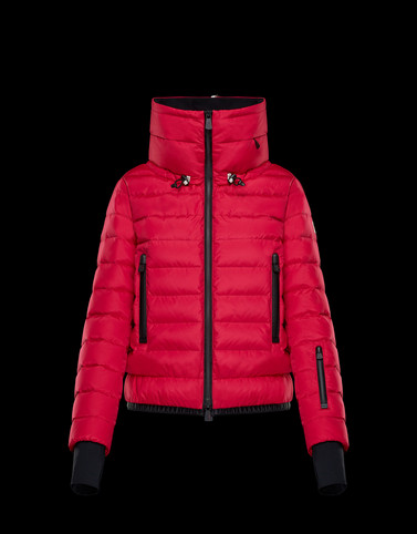 VONNE Fuchsia Short Down Jackets