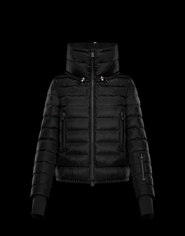 VONNE Black Grenoble Down Jackets and Gilets Woman