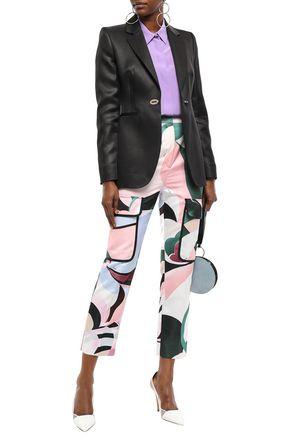 EMILIO PUCCI Wool and silk-blend satin blazer
