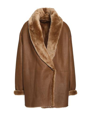 Купить Женское пальто или плащ  коричневого цвета