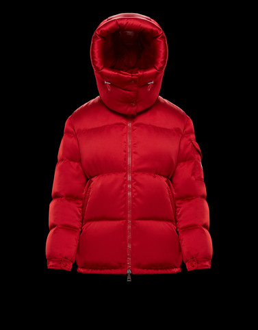 WIL Red Short Down Jackets