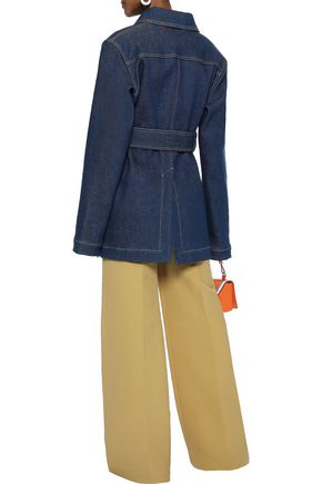 ACNE STUDIOS Belted denim jacket