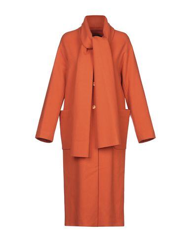 Купить Женское пальто или плащ CARLA G. оранжевого цвета