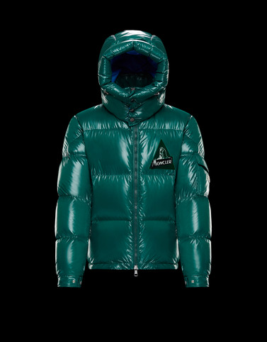 WILSON Emerald green Category Outerwear Man