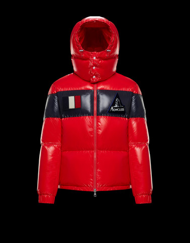 GARY Red Down Jackets