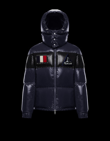 GARY Dark blue Category Outerwear