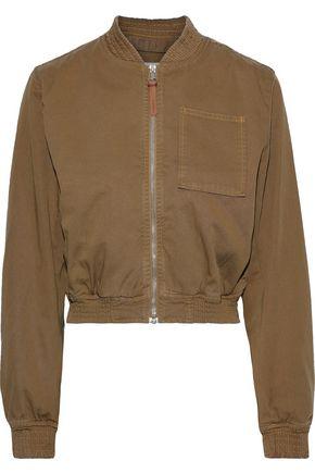 ACNE STUDIOS Arzu cropped cotton-twill bomber jacket