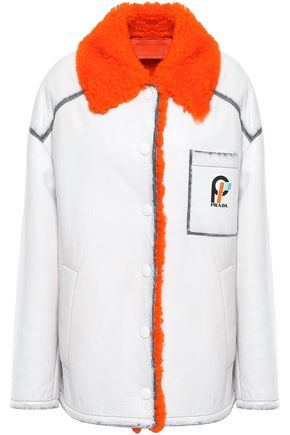 PRADA Oversized shearling coat