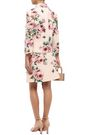 DOLCE & GABBANA Double-breasted floral-print wool and silk-blend cady jacket