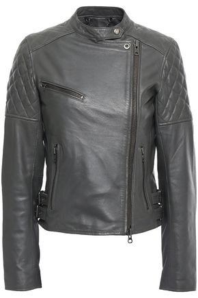 MUUBAA Siata quilted leather biker jacket