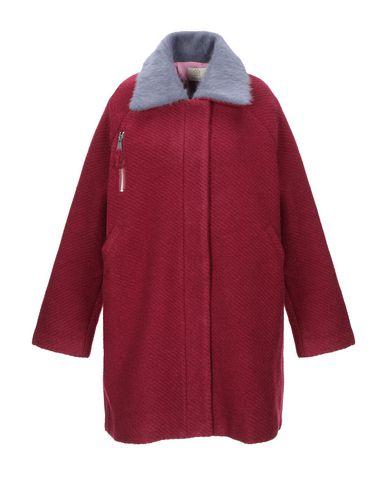 Фото - Женское пальто или плащ CUBIC красно-коричневого цвета