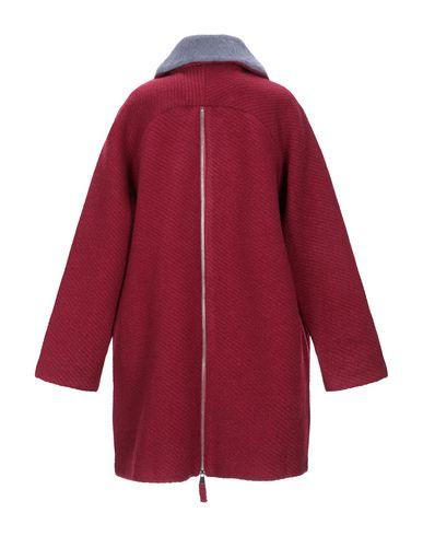 Фото 2 - Женское пальто или плащ CUBIC красно-коричневого цвета
