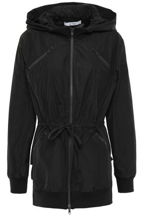 CLU Tiered shell hooded jacket