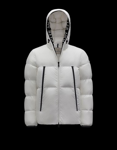 MONTCLA White Down Jackets