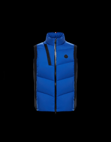 JACOT Colore Blu china Categoria Gilet