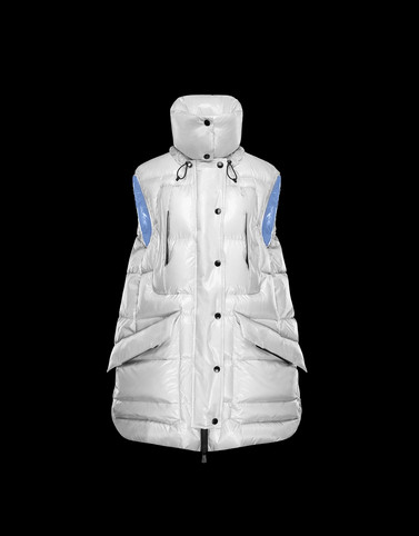 MYRA Ivory Grenoble Down Jackets and Gilets Woman
