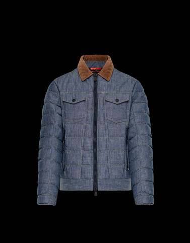 GAIN Light blue Category Overcoats Man