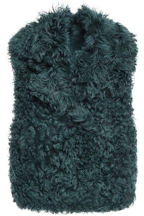 YVES SALOMON Shearling vest