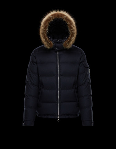 ALLEMAND Dark blue Down Jackets Man