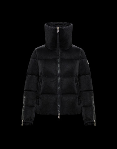 BANDAMA Black Short Down Jackets