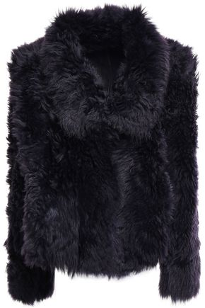METEO by YVES SALOMON Reversible shearling jacket