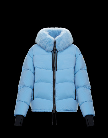 PLARET Sky blue Short Down Jackets