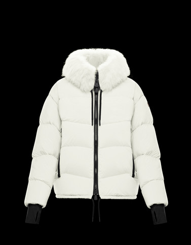 PLARET White Grenoble Down Jackets and Gilets Woman