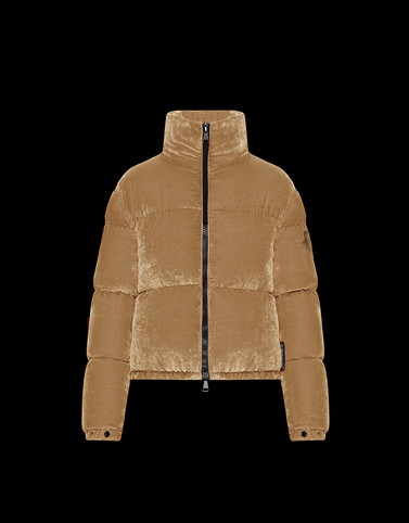 RIMAC Beige Category Bomber Jacket Woman