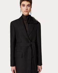 Light Silk Wool Blazer