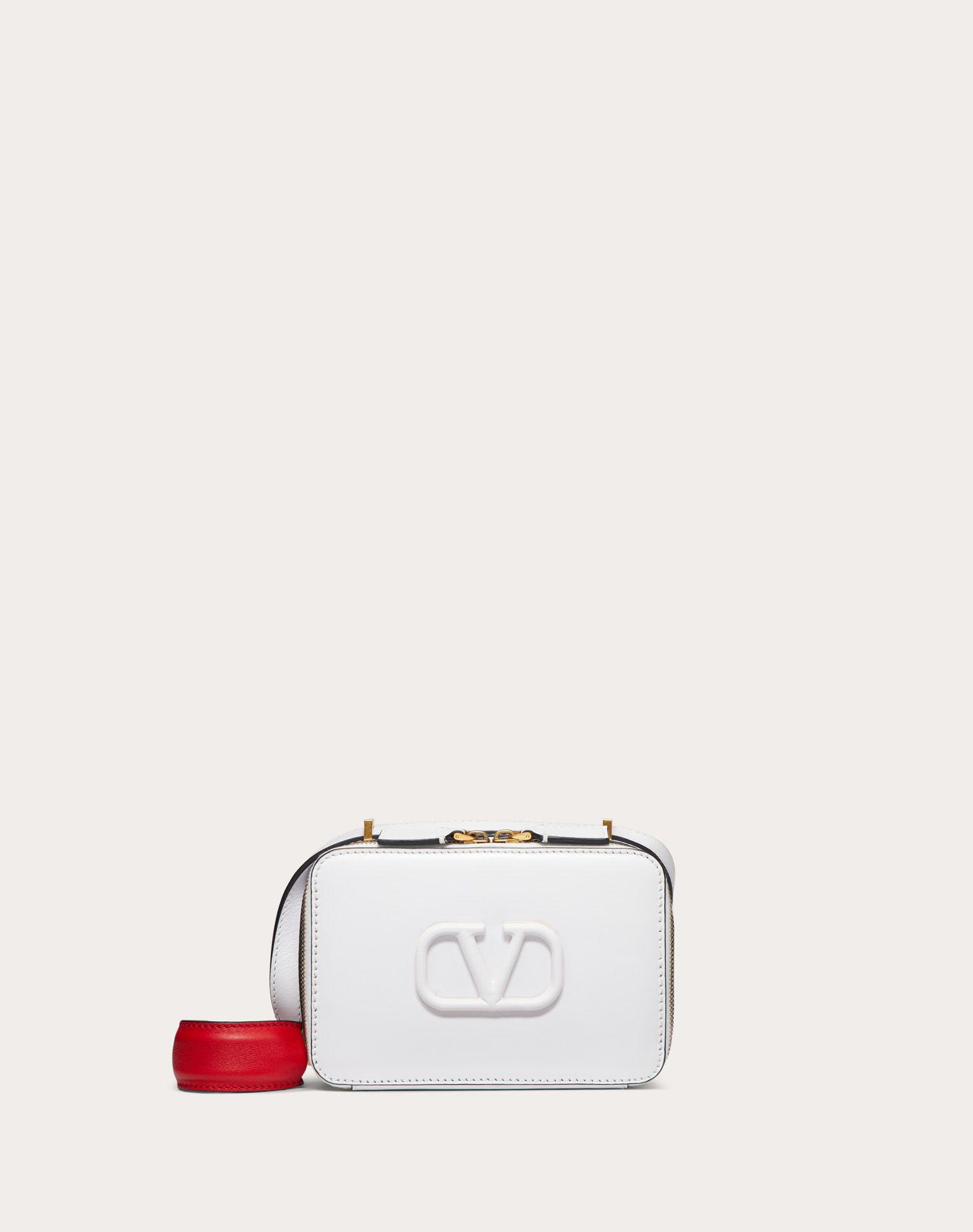 Crossbody Bag VSLING aus glänzendem Kalbsleder