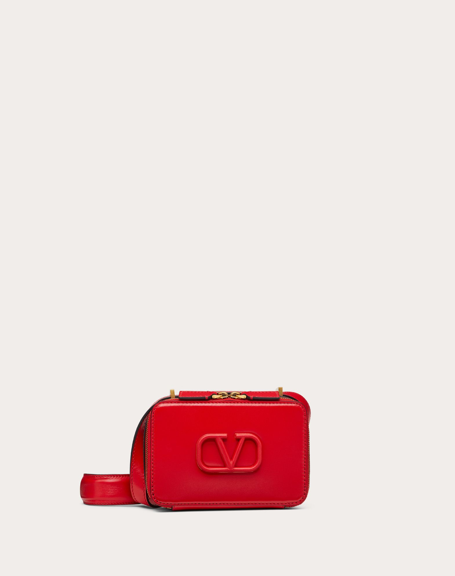 VSLING Smooth Calfskin Crossbody Bag