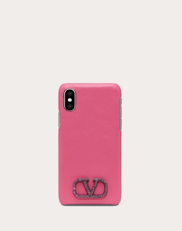 VLOGO CALFSKIN PHONE COVER FOR IPHONE X/XS