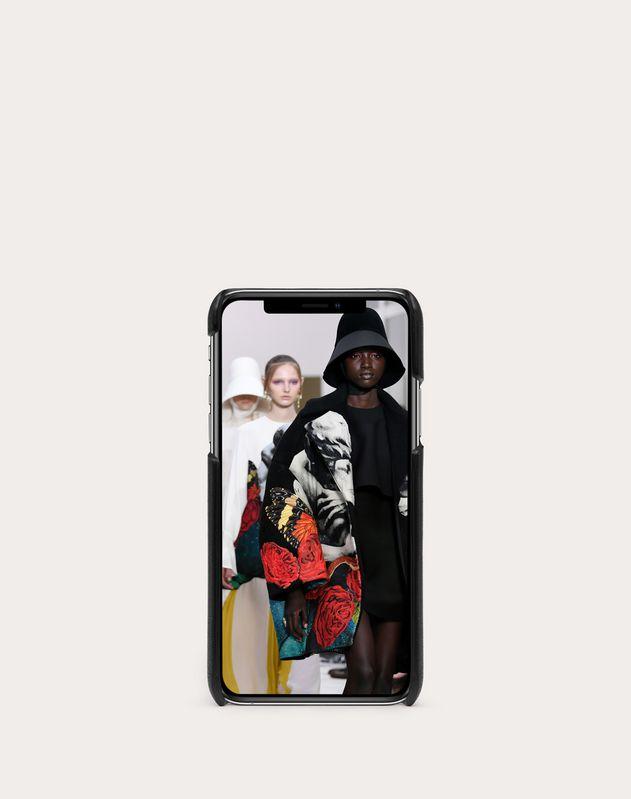 ヴァレンティノ ガラヴァーニ アンダーカバー Vロゴ iPhone X/XS カバー