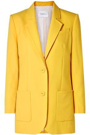 RACIL Alfred wool-crepe blazer