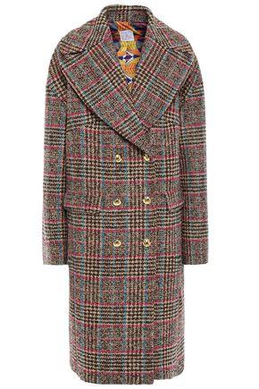 STELLA JEAN Double-breasted wool-blend bouclé-tweed coat
