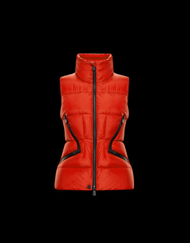 ATKA Orange Grenoble Down Jackets and Gilets Woman