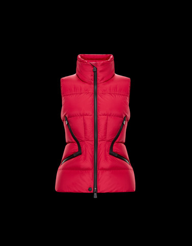 ATKA Pink Grenoble Down Jackets and Gilets Woman