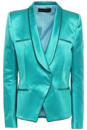 HAIDER ACKERMANN Silk and cotton-blend satin blazer
