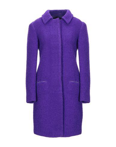 Купить Женское пальто или плащ  фиолетового цвета