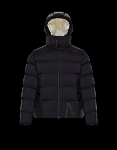 WILMS Black Down Jackets Man