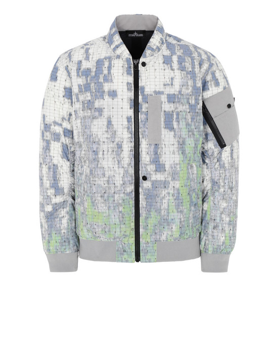 STONE ISLAND SHADOW PROJECT 40813 DOWN BOMBER JACKET Mid-length jacket Man Pistachio Green