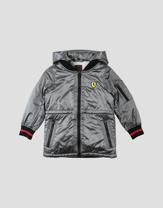 Scuderia Ferrari Online Store - Girls' jacket in iridescent ripstop fabric - Bombers & Track Jackets