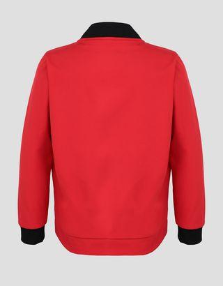 Scuderia Ferrari Online Store - Veste rembourrée pour garçon et fille avec manches et dos en SOFTSHELL - Bombers et vestes de sport