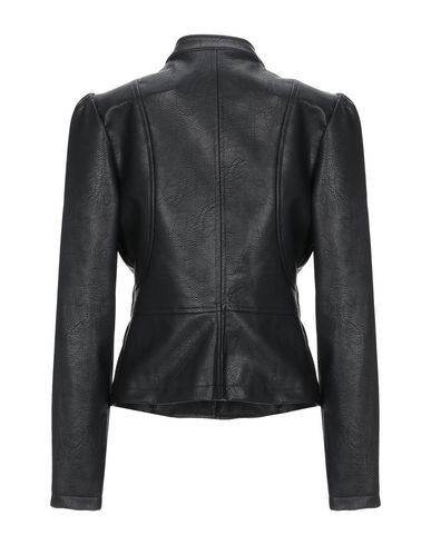 Фото 2 - Женскую куртку KORALLINE черного цвета