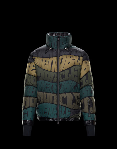 LIMEDIUMAT Military green Down Jackets