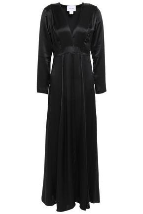 WE ARE LEONE Silk-satin robe