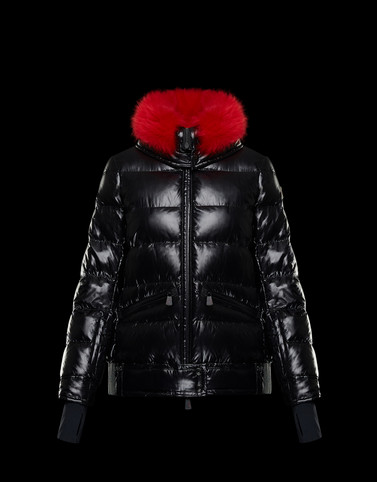 ARABBA Black Grenoble Down Jackets and Gilets Woman