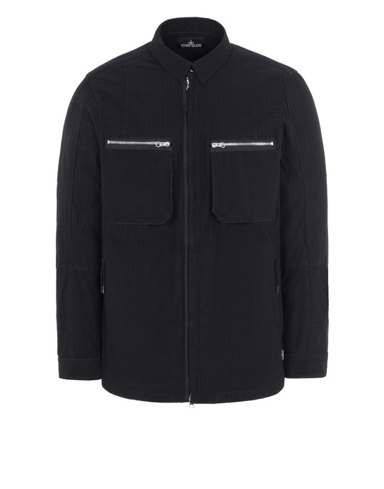 STONE ISLAND SHADOW PROJECT Q0402 OVERSHIRT 轻质外套 男士 黑色